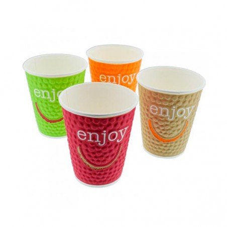 Vaso de Carton Enjoy de 16Oz/495ml (28 Unidades)