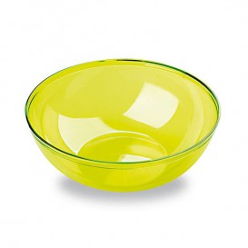 Bol PS Cristal Duro Verde 400ml Ø14cm (4 Uds)