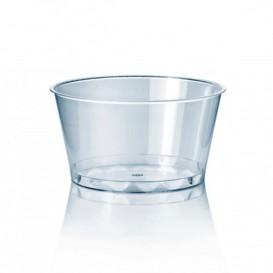 Tarrina de Plástico PS Cristal 300 ml Ø11cm (100 Uds)