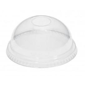 Tapa Cúpula Cerrada PET Cristal Ø9,3cm (100 Uds)