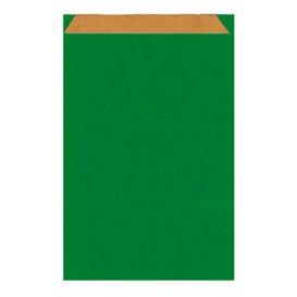 Sobre de Papel Kraft Verde 26+9x38cm (125 Unidades)