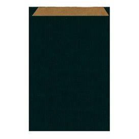 Sobre de Papel Kraft Negra 26+9x38cm (125 Unidades)