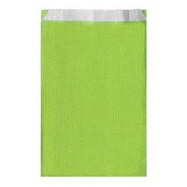 Sobre de Papel Verde Anis 12+5x18cm (125 Unidades)