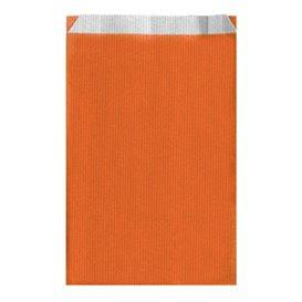 Sobre de Papel Naranja 26+9x46cm (125 Unidades)