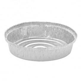 Envase de Aluminio Redondo para Pollos 900ml (125 Uds)