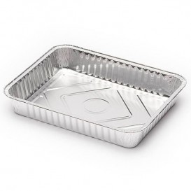 Bandeja de Aluminio 226x175mm 1000ml (100 Uds)