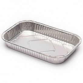 Bandeja de Aluminio 283x186mm 1500ml (100 Uds)