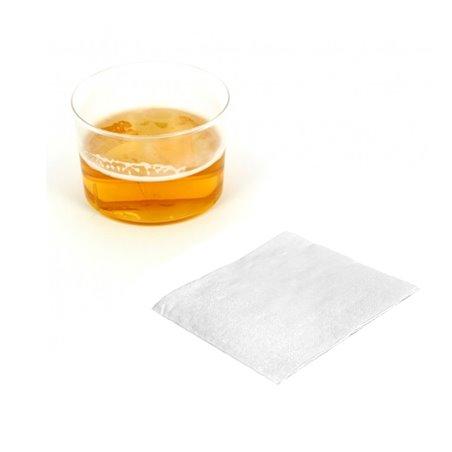 Servilleta de Papel Cocktail 20x20cm Blanca (100 Uds)