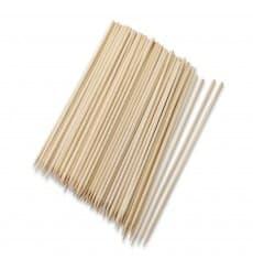 Pinchos Brocheta de Bambú 100mm (200 Uds)