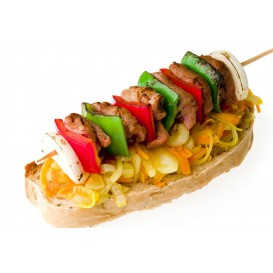 Pinchos Brocheta 200 mm (100 Uds)