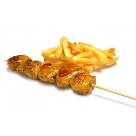 Pinchos Brocheta 250 mm (100 Uds)
