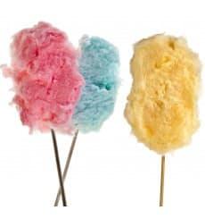 Stick para Algodón de Azúcar 40cm (50 Uds)